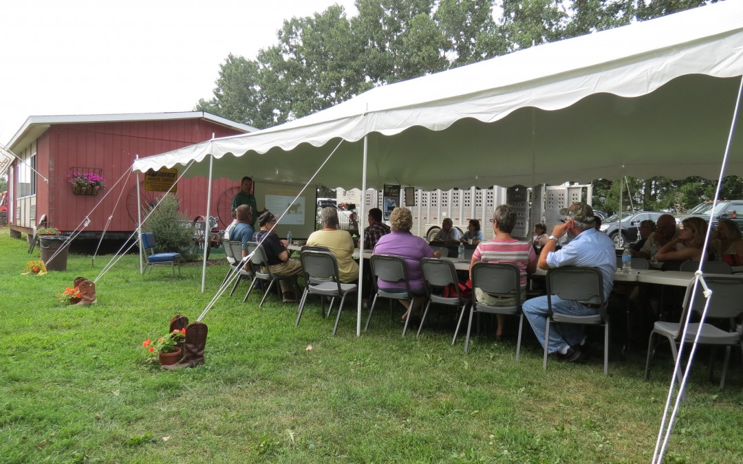 Bordner Farms Hosts Angus Field Day
