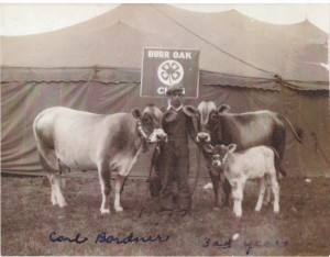 earl bordner early 4-h beef projects